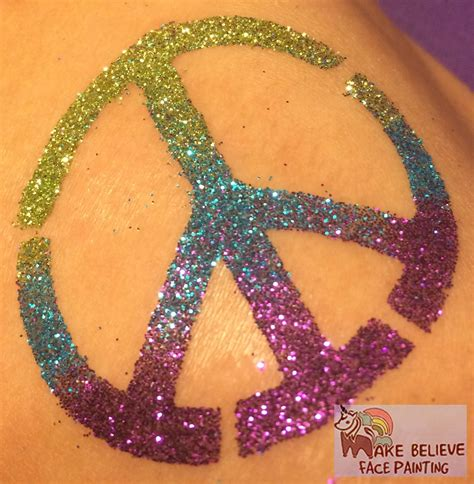 glitter tattoos glitter tattoos make believe painting
