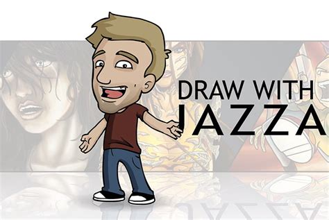 Drawing With Jazza by Wanna Draw Jazza Will Teach You Effigy Digital Magazine