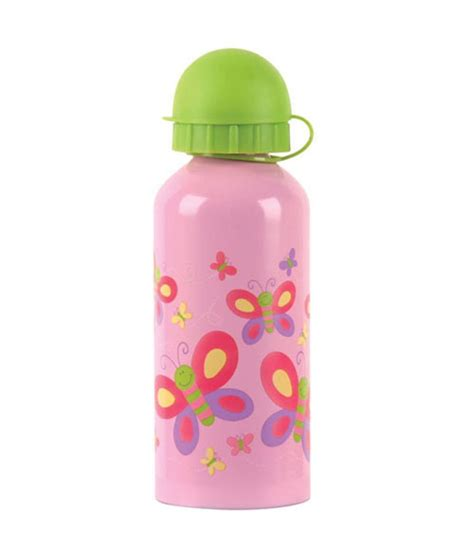 Stephen Joseph Stainless Steel Water Bottle 1 stephen joseph stainless steel water bottle butterfly buy