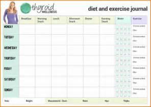 workout journal template 5 exercise journal divorce document
