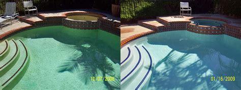 before after gardner pool remodeling gardner