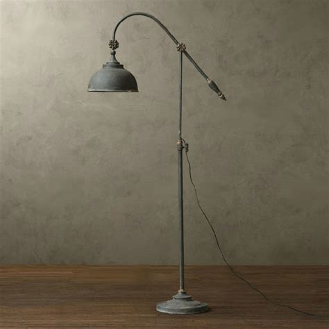 Floor Lighting Fixtures Loft Rh Antique Metal Floor L Rustic Floor Ls New Orleans By Phx Lighting