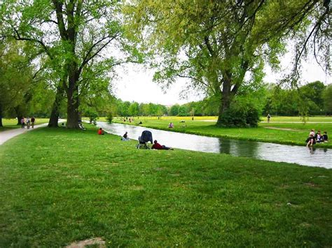 Englischer Garten Qm by Running Routes Classical Munich Running Route