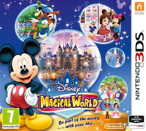 Disney Magical Fireplace Dvd by Disney Magical World Nintendo 3ds Nintendo