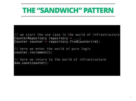 sandwich pattern in engineering tdd cose che ho imparato negli ultimi 12 anni