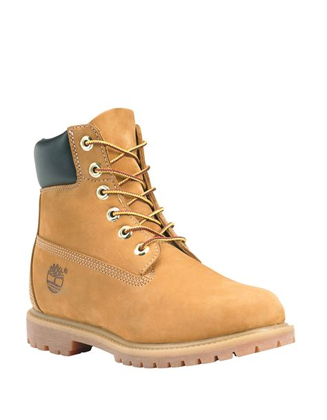 timberland brown timberland s waterproof lace up boots in brown lyst