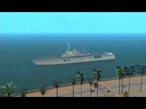 big boat in gta 5 gta big boat driving youtube