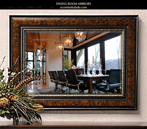 decorative mirrors dining room tuscan old world style mirrors