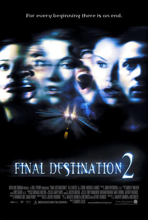seri film final destination sarebbe ingiusto morire proprio adesso che la mia carriera