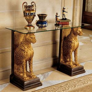 animal statues home decor eygptian african decor statues cheetah wildlife animal