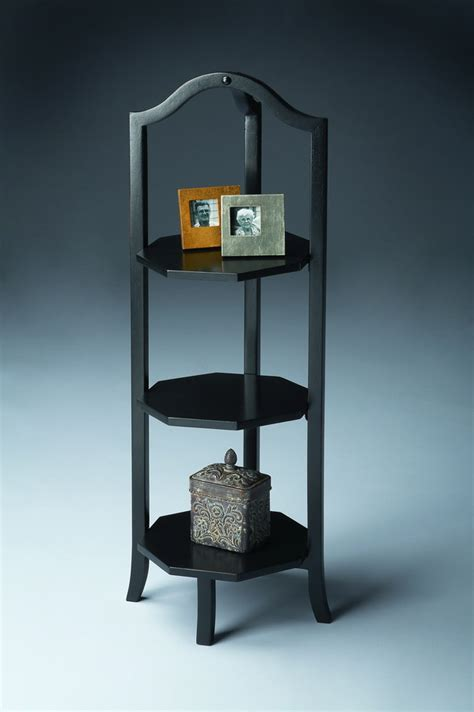 etagere butlers butler 7023111 black licorice etagere bt 7023111 at