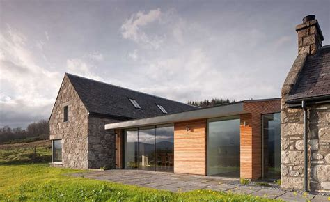 Contemporary Style House by Highland Stone Home With Reclaimed Materials