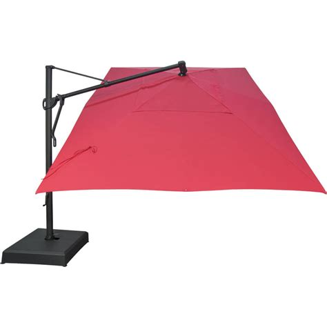 Rectangular Offset Patio Umbrella Cantilever Patio Umbrella Rectangular Treasure Garden Rectangle Cantilever Umbrella Patio