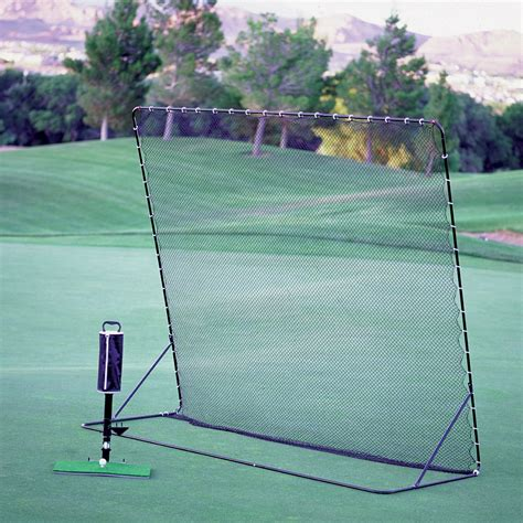 Perfect Swing Golf Simulator Golf Mat Large Golf Net