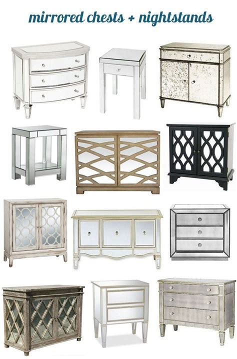 Dresser And Two Nightstands Vintage Bedroom Set Chest Side Best Of Mirrored Chests And Nightstands Nightstands And Layering