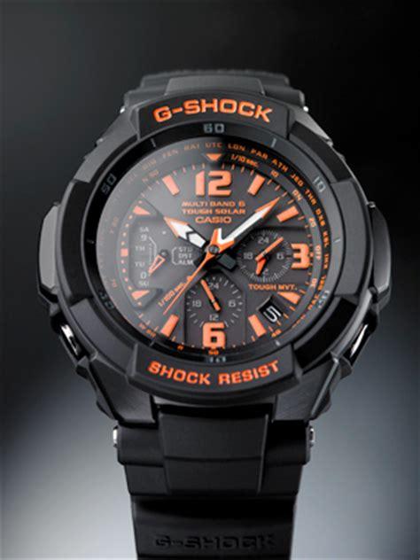 G Shock Black Orange neue casio gw 3000 g shock serie in japan vorgestellt