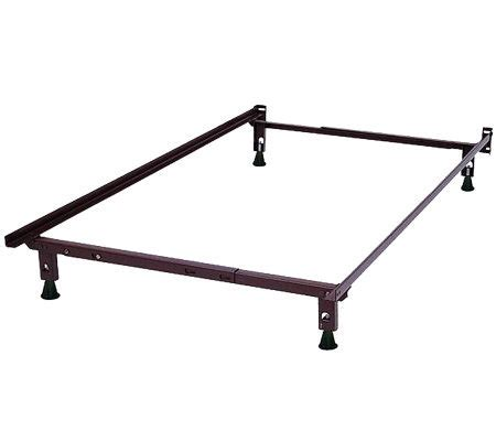 heavy duty bed frame twin full heavy duty bed frame page 1 qvc com