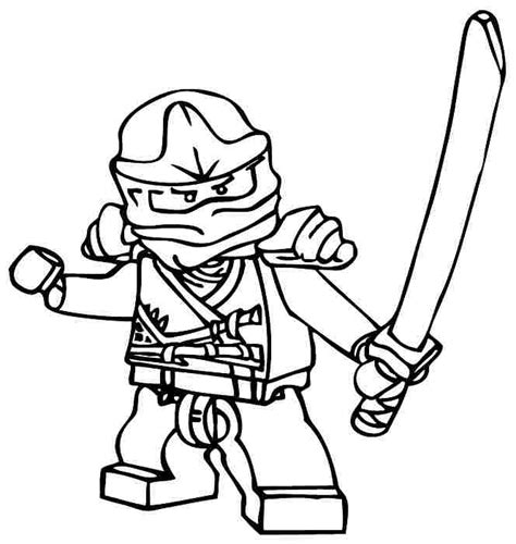 lego ninjago gold dragon attack coloring page red