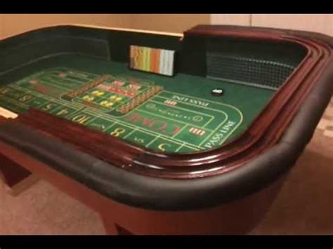 how to build a craps table diy craps table video10