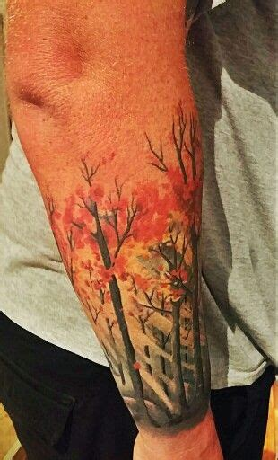 autumn tattoos 78 best tree images on forest