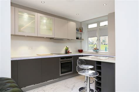 small kitchen design by lwk kitchens london modern small kitchen design modern kitchen other metro by