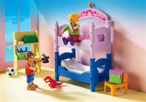 playmobil chambre enfant chambre d enfants avec lits superpos 233 s 5306 playmobil