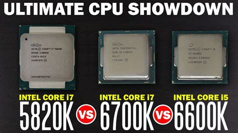 best intel processor for gaming whats the best processor for gaming intel i7 6700k vs