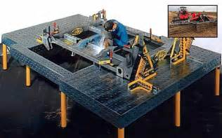 bluco welding table reusable modular fixturing streamlines processes bluco