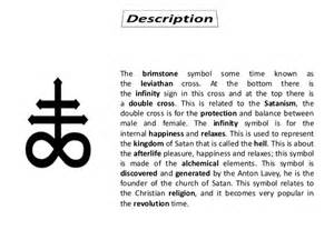 What Does Infinity Symbol Represent What Does The Leviathan Cross