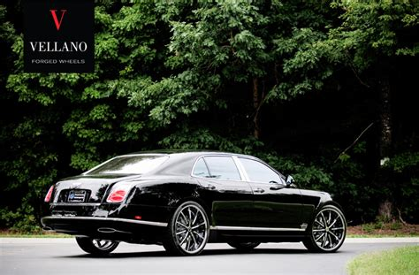custom bentley mulsanne wheels bentley mulsanne custom wheels vellano vti 24x9 5 et