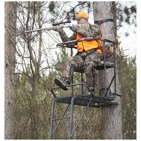 tree stand guide gear oversized 18 1 2 ladder tree stand