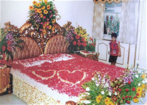 Flower Decorations For Bedroom by Bridal Bed Room Decoration For 1st 9711655952
