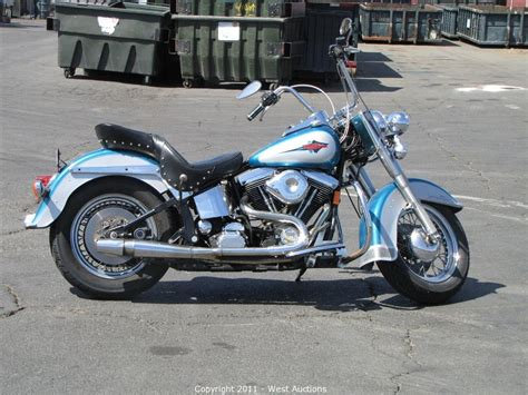 Harley Davidson West by West Auctions Auction 1994 Harley Davidson Heritage