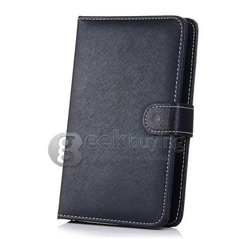 Leather Universal 7in Gambar Kartun 3 D universal leather keyboard holster for 7 inch tablet pc