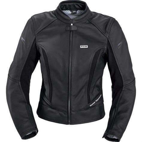flm sports ladies leather combi jacket short