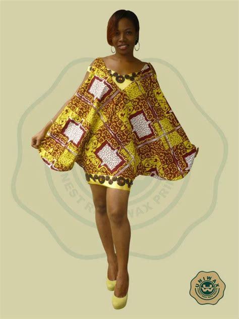 Tenues Africaines En Tissu Pagne | modele de robe en pagne uniwax 187 pagne africain mod 232 les