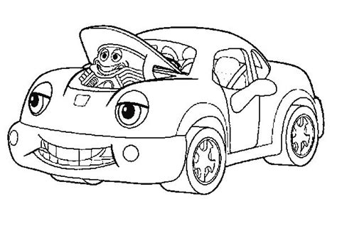 car engine coloring page engine car colouring pages