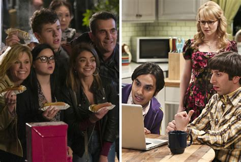 my funky modern family los repartos de the big theory y modern family se
