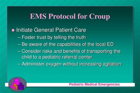 comfort care protocol ppt maryland pre hospital protocol for croup powerpoint