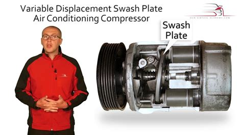 air conditioning compressor swash plate vs clutch variable displacement swash plate air conditioning compressor teaser youtube