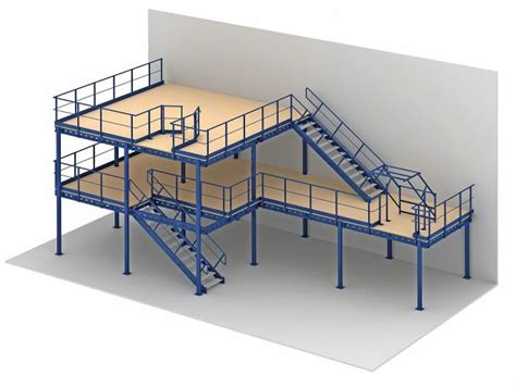 House With Mezzanine Floor Plan 500kg professional steel shelf supported mezzanine for
