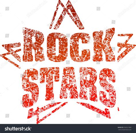 Style Stam by Grunge Style Rubber St Rock Stock Vector