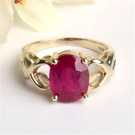 ruby 3 3crt ruby ring ruby ring 3 carat