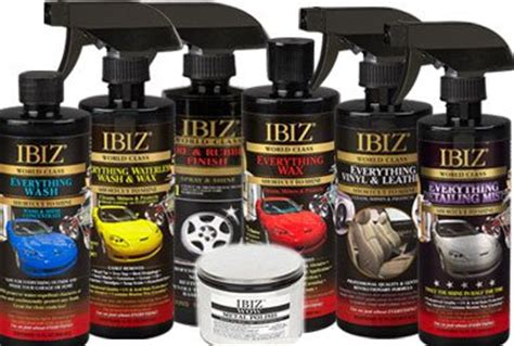 ibiz boat wax waterless wash wax beatyourprice