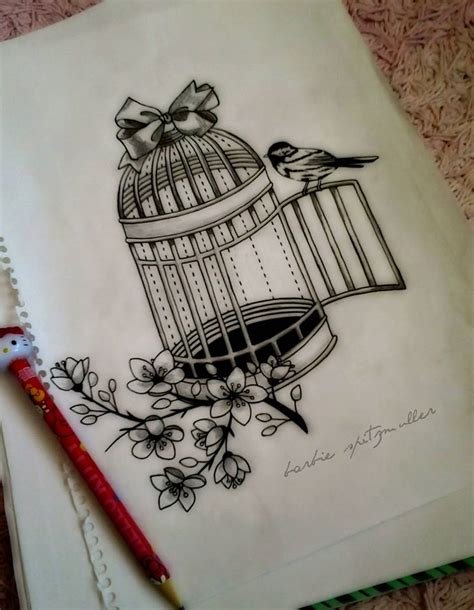 bird cage tattoo designs 6 broken cage tattoos