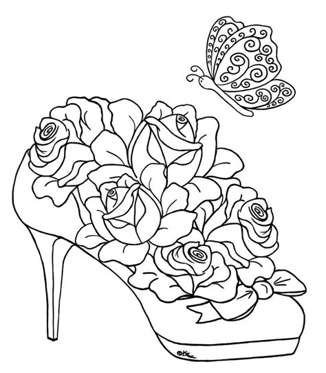 advanced coloring pages pinterest coloring pages hearts and roses advanced coloring pages