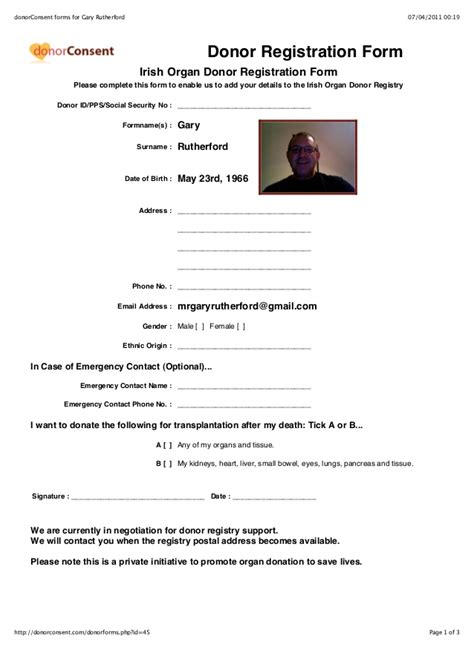 template next of kin form sle donor next of kin forms