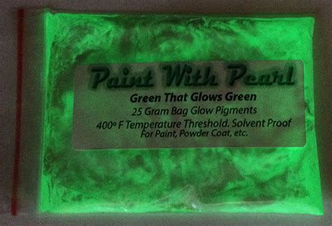 glow in the paint lasting green glow in the paint pearls and pigment