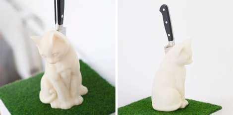 kitschy kitchen kitties fur free feline decor helps cat