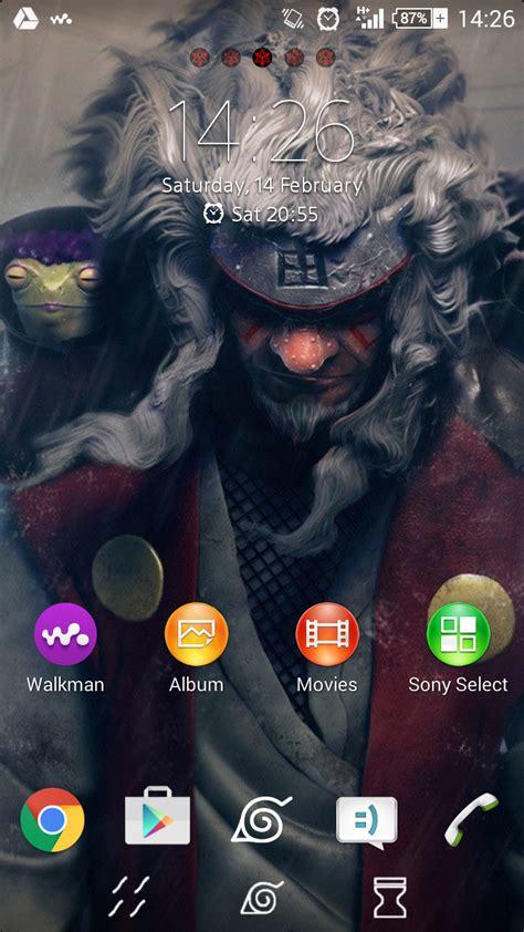 Naruto Themes For Sony Ericsson Xperia | xperia themes xperia theme naruto